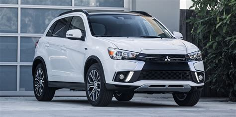 mitsubishi asx 2018 mitsubishi asx update revealed in the usa photos 1