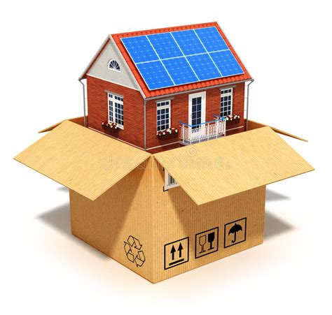 new house loan new house in cardboard box stock photo image 32753180