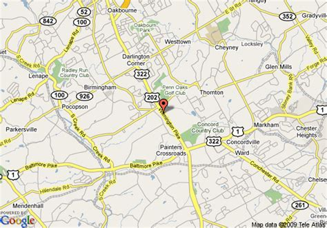 hotels in chadds ford pa map of sentinel motel chadds ford