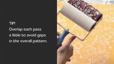 pattern roller india decorette patterned paint rollers how to use standard