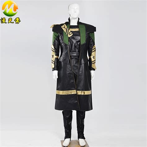 movie quality thor costume character loki in the avengers and thor cosplay costume