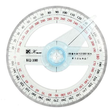 swing finder 10cm plastic 360 degree protractor ruler angle finder