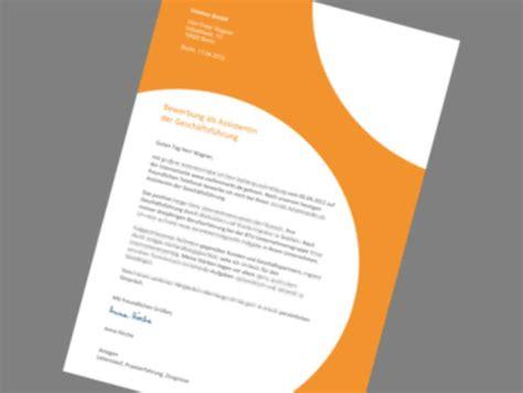 Bewerbungsschreiben Design Vorlage bewerbungsschreiben muster bewerbungsschreiben design
