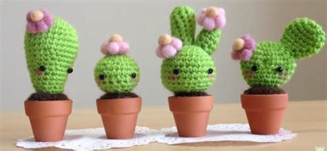 What Is A Good Housewarming Gift by Video Tutorial Crochet Kawaii Cactus