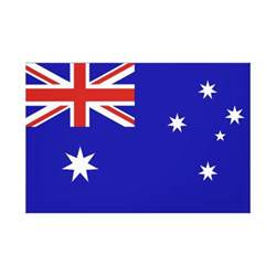 australia flag colors australian flag canvas print zazzle