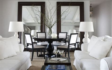 Mirror In Dining Room Interior Design by Mirrors