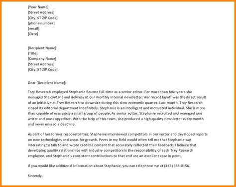 Reference Letter For Done 10 Writing A Letter Of Recommendation For Someone Sle Of Invoice