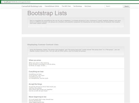 bootstrap tutorial list the asp net mvc club bootstrap tutorial lesson 12