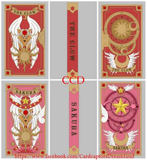 Clow Cards Template by The Clow Book Book Cardcaptors