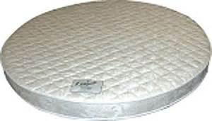 circular mattress abe feller 174 visco memory foam round mattress