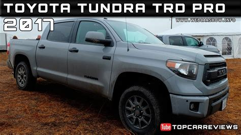 Tundra Trd Pro Reviews by 2017 Toyota Tundra Trd Pro Review Rendered Price Specs