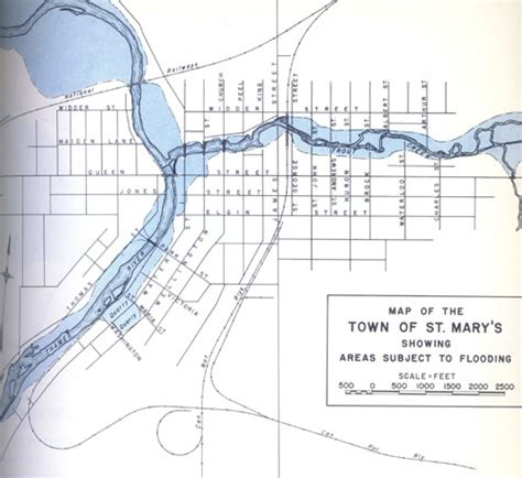 thames river map ontario 1937 flood maps utrca inspiring a healthy environment