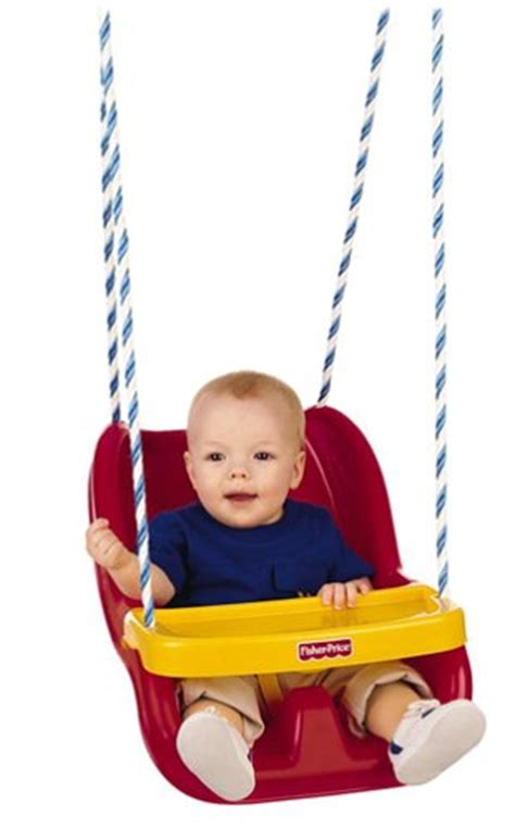 fisher price swing toddler fisher price infant to toddler swing in red b00007dwbv