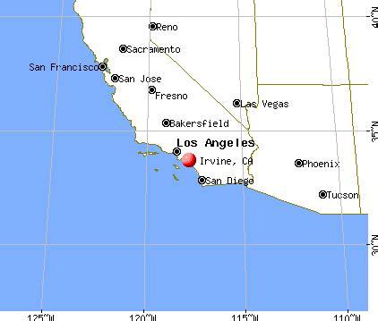 california map irvine ca irvine california ca profile population maps real