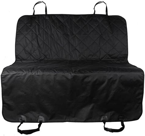 Quilted Car Seats by Kopeks Waterproof Quilted Car Seat Cover Black Chewy