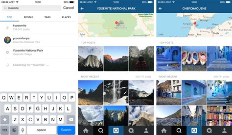 Instagram Lookup By Phone Number Instagram For Iphone Adds Curated Collections Trending Tags And Places Place Search And More