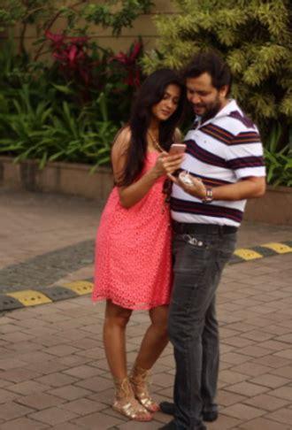 shweta tiwari husband shweta tiwari flaunts her baby bump at a recent outing