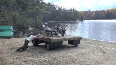 floating boat dock wheels wheel float dock youtube