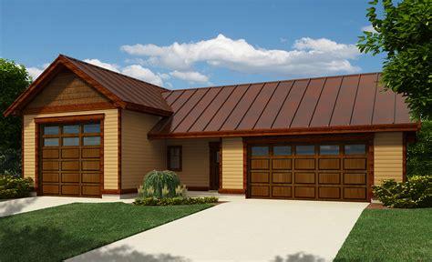 2 car garage with workshop 9830sw architectural rv garage with workshop 9829sw architectural designs