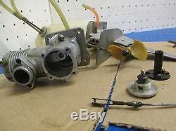 boat motor prop repair vintage remote control gas k b boat motor 7 5 parts prop