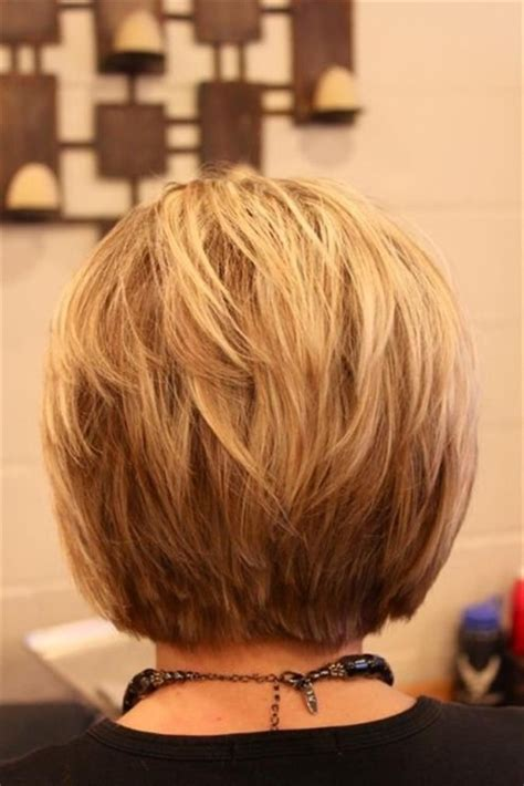 back of bob haircut pictures short layered bob hairstyles front and back view