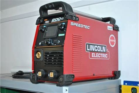 Poste A Souder Mig 411 by Lincoln Electric Speedtec 200c Multi Purpose Single