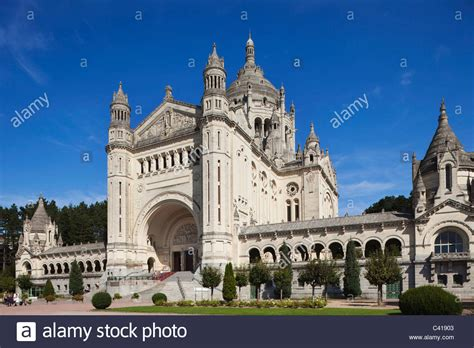 st therese basilica lisieux france europe france normandy normandie lisieux basilica of