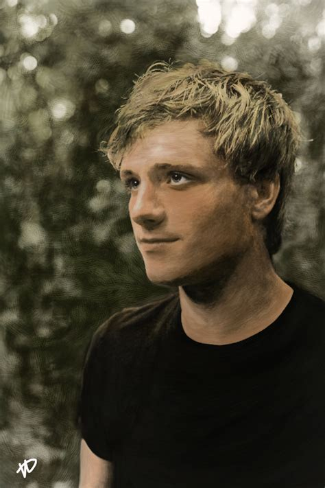 peeta mellark by xskiesrbluex on deviantart