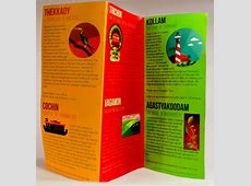 25 Really Beautiful Brochure Designs & Templates For ... Kerala Tourism Brochure