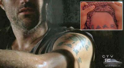 lost jack s tattoo s s lost
