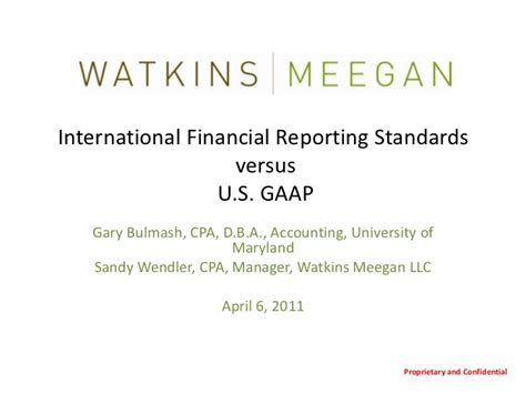 accounting trends and techniques u s gaap financial statements best practices in presentation and disclosure aicpa books ifrs vs u s gaap a watkins meegan lunch learn