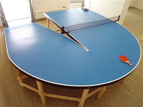 ping pong table shaped like easter island ping pong facts and best table designs cool