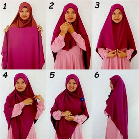 download tutorial hijab syar i tutorial hijab wisuda syari www imgkid com the image