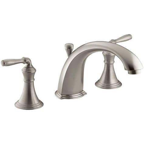 Devonshire Faucet Brushed Nickel by Kohler Devonshire 2 Handle Deck Mount Tub Faucet