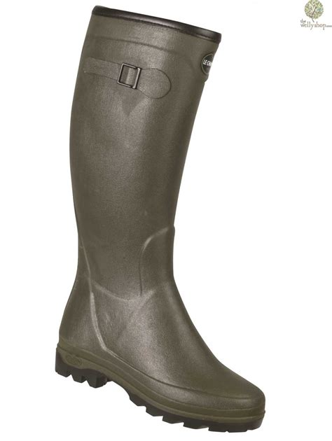 wellingtons boots for le chameau all track country neo neoprene