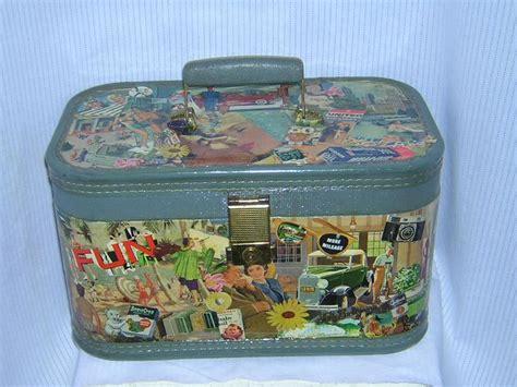 Decoupage Vintage Suitcase - 17 best images about suitcase redo on vintage