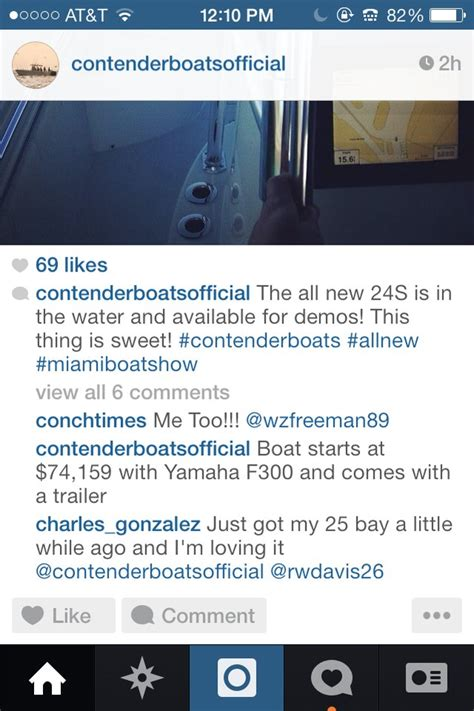 contender boats instagram contender 24 at mibs the hull truth boating and
