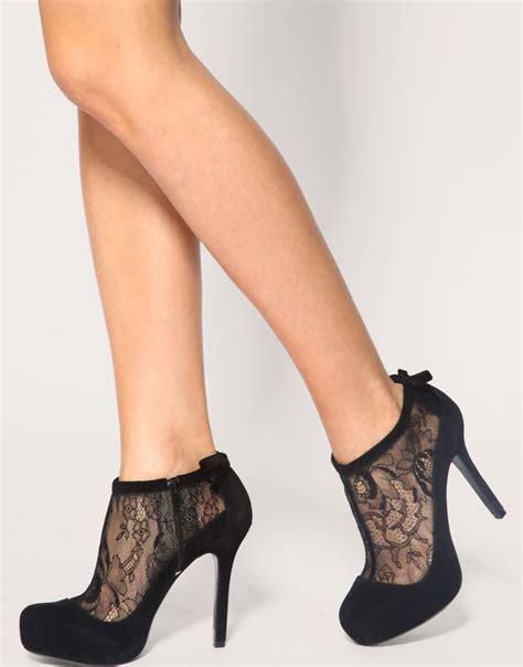 17 best ideas about black lace shoes on black