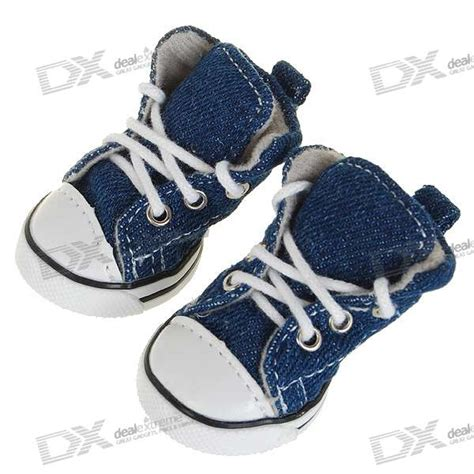 booties for dogs runner boot shoes for dogs cats size 2 blue 4 shoe set free shipping