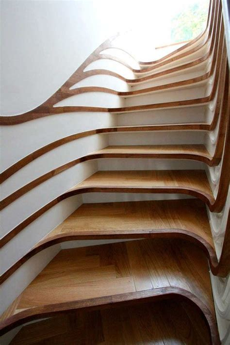 design milk stairs impressionnant unique and escaliers on pinterest