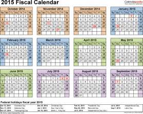 Kalender 2018 Docx Fiscal Calendars 2015 As Free Printable Word Templates