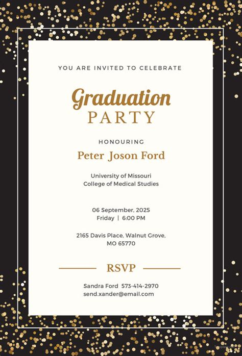 19 Graduation Invitation Templates Invitation Templates Free Premium Templates Graduation Photo Invitations Templates