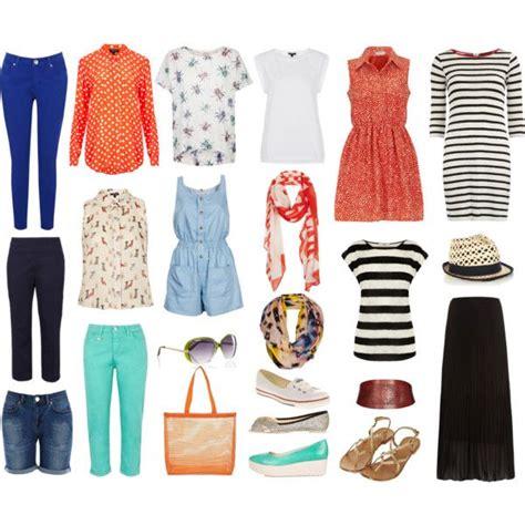 Capsule Summer Wardrobe by Summer Capsule Wardrobe By Kizzypops On Polyvore Capsule