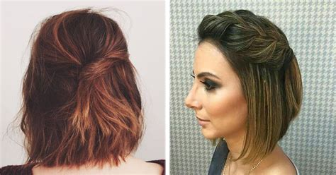 11 peinados casuales para cabello corto peinados 14 lindos y sencillos peinados para cabello corto la