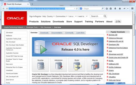Oracle Sql Developer installing and configuring pl sql developer