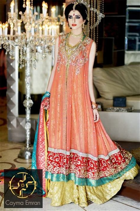 Engagement Dresses Trends 2014 In Pakistan 011   Life n Fashion