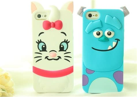 Casing Handphone Iphone 5 5s Silicone 3d Sulley Cover 3d tigger monsters inc sulley cat silicone phone back cover for iphone 4 4s
