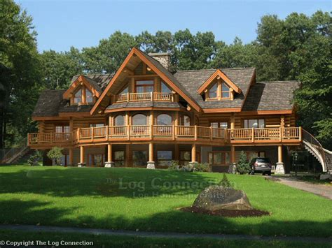 Log Cabin Home by Baths Authorized Sales Representatives For Kuhns Bros