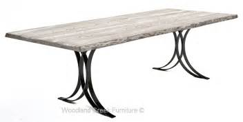 heritage ignet wrought iron dining table: modern wrought iron base modern wrought iron base item dt  l x