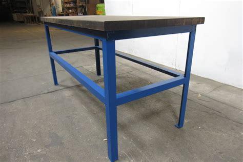 butcher block work bench 30x67 quot butcher block steel industrial work assembly table